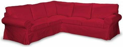 Dekoria Pokrowiec na sofę Ektorp narożną Cotton Panama 702-04