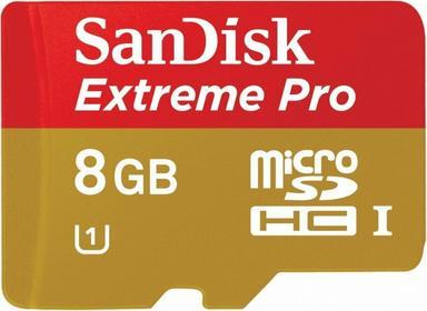 SanDisk microSDHC Extreme Pro Class 10 UHS-1 8GB