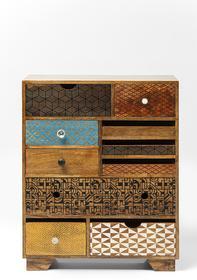 Kare Design Komoda Kredens Soleil 10 szuflad