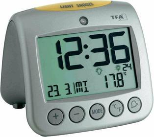 TFA Zegar Sterowany radiowo 60.2514 (DxSxW) 98 x 112 x 110 mm