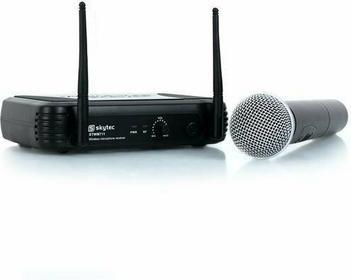 Skytec STWM711 VHF-bezprzewodowy system + mikrofon do ręki Sky-179.185