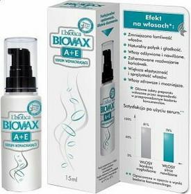 Lbiotica BIOVAX A i E Serum wzmacniające do włosów 15ml