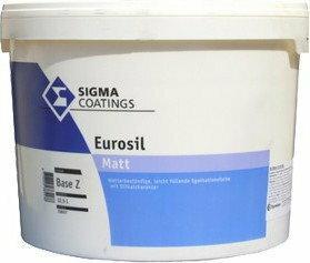 Sigma COATINGS EUROSIL akrylowa farba Farba fasadowa biała
