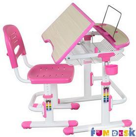 Fun Desk Colore Pink