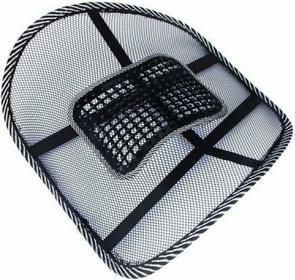 Klin lędźwiowy/korekcyjna podpórka pod plecy z masażerem pzm