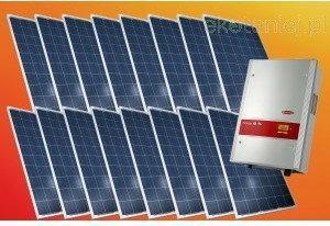 Canadian Solar Zestaw ogniw 3.84kW CS6P-240P + falownik Fronius IG TL 3.6