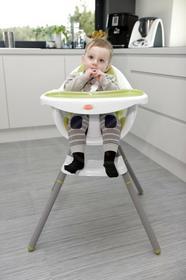 Baby Maxi Krzesełko do karmienia - ZIELONE 1511 Krzesełko ziel