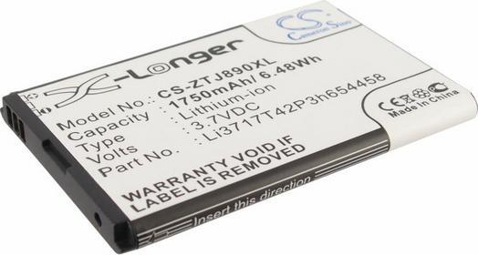 Cameron Sino ZTE Authentic / Li3717T42P3h654458 1750mAh 6.48Wh Li-Ion 3.7V () CS-