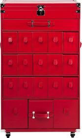 Kare Design Szafa Trunk Shoes Red