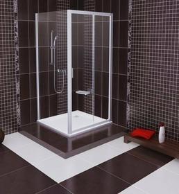 Ravak Blix ścianka stała 90 biały przeźroczyste ANTICALC BLPS 9BH70100Z1