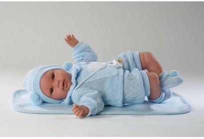 Llorens Lalka noworodek 36 cm płaczący 63605