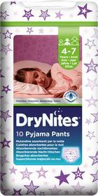 Huggies Dry Nites DryNites dla dziewczynek 4-7 lat, 10 szt. (17-30 kg) -