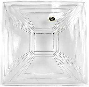 Talerz kryształowy kwadratowy 24 cm Bohemia 4SB.000999