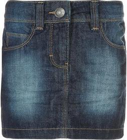 Esprit Spódnica jeansowa superdark denim 124EE7D002