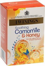 Twinings 20x1,5g Soothing Camomile&Honey Herbata ekspresowa rumianek, miód