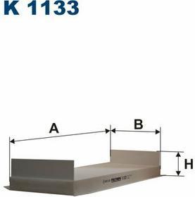 FILTRON K 1133 Filtr Kabinowy