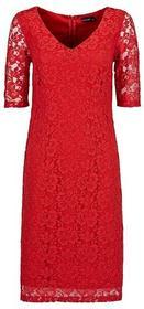 Bonprix Sukienka koronkowa czerwony 935857
