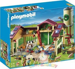 Playmobil Nowe Gospodarstwo rolne z silosem 5119