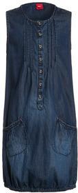 s.Oliver Sukienka jeansowa blue denim 53601822505 dziewczęta