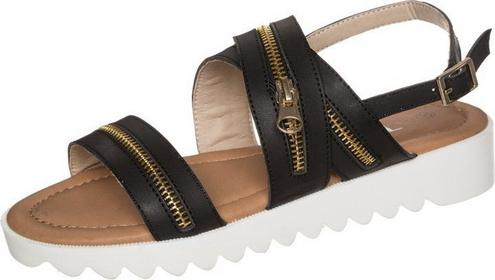 Divine Factory sandały czarny HW1030T02B