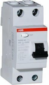 ABB wyłącznik różnicowo-prądowy FH202 AC-25/0,03 2CSF202004R1250