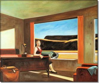 Western motel - Edward Hopper