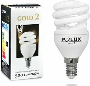 Polux świetlówka energooszczędna GOLD 2 mini 8W E14 SE9627