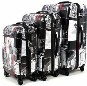 David Jones Zestaw walizek podróżnych NEW YORK
