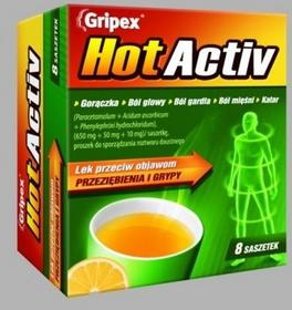 US Pharmacia GRIPEX HotActiv 8 szt.