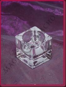 Bolsius Świecznik szklany Swiecznik_SZKLANY_48x50