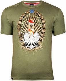 Surge Polonia T-shirt T-shirt Korpus Ochrony Pogranicza oliwkowa