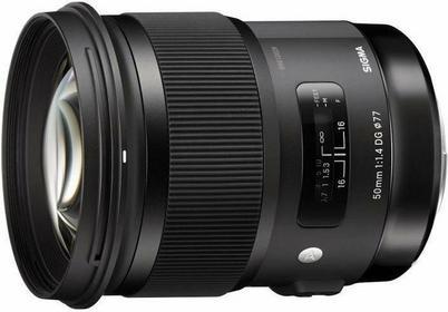 Sigma 50mm f/1.4 A HSM DG Canon