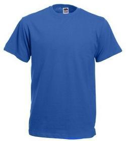 Fruit of the Loom T-Shirt Heavy Cotton 612120 51 - niebieski