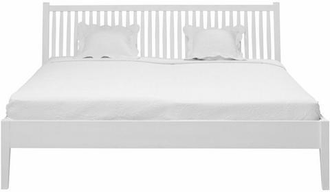 Interstil Łóżko Valentine 140x200 cm, białe, MDF, 91645-1