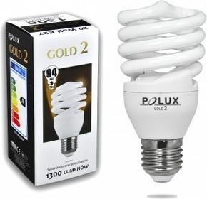Polux świetlówka energooszczędna GOLD 2 mini 20W E27 SE9689