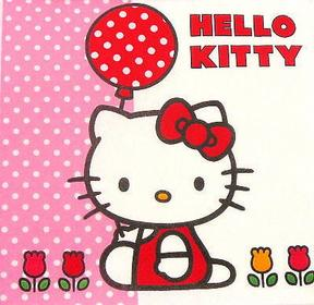 Serwetki do decoupage 33x33cm - Hello Kitty