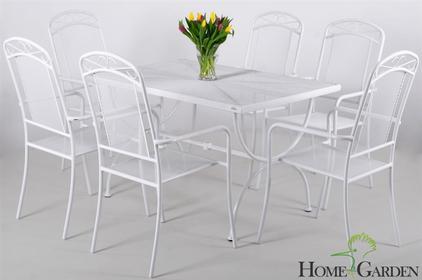 Home&Garden Meble Ogrodowe VENEZIA NET Biały 6