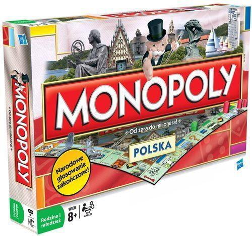 Hasbro Monopoly Polska 1610