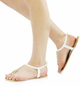 Białe sandały Hinata biały