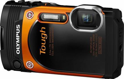 Olympus TG-860 pomarańczowy