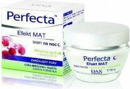 DAX Cosmetics Perfecta Efekt MAT - Krem zwężający pory na noc 50ml