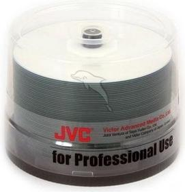 JVC CD-R 700MB 52x PRO Watershield White Injet Printable Glossy 50szt. J-CDR80WPPWS-50SB