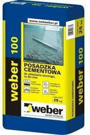 Weber Floor100 Posadzka cementowa 25kg