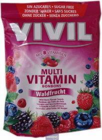 Vivil owoce leśne cukierki bez cukru