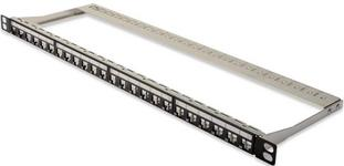 Digitus Professional Patchpanel 24 Porty Professional Modulares High Density Patch Panel geschirmt 0.5 U