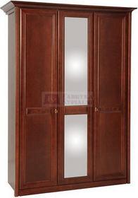 Bogatti Szafa 3 drzwiowa z lustrem Venezia olcha