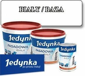 Jedynka farba akrylowa Farba fasadowa Biała/ Baza 0.9L HAN08827