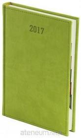 zbiorowa Praca Kalendarz 2017 A5 z registrami Vivella Seledynowy / wysyłka w 24h od 3,99