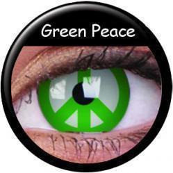 MAXVUE Vision Crazy Wild Eyes - Green Peace (2szt.)