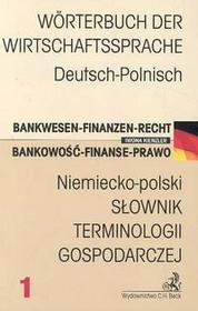 Iwona Kienzler Niemiecko-polski Słownik terminologii gospodarczej